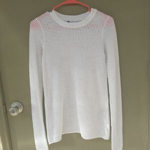 ATM Anthony Thomas Melillo Tops - ATM  Mesh Long Sleeve Knit Shirt Small